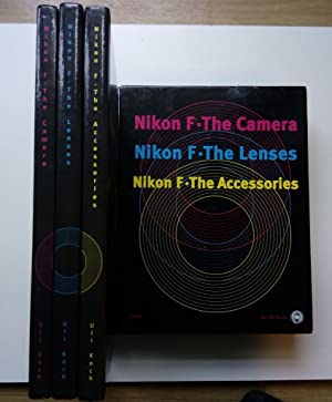 Nikon F - The Camera / Nikon F - The Lenses / Nikon F - The Accessories (3 Bände im Schuber, komp...
