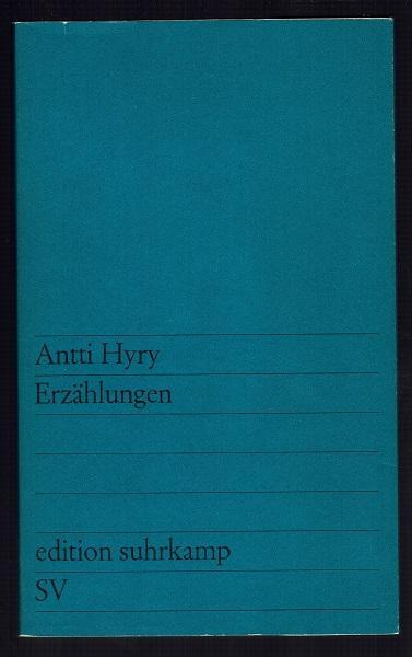 Erzählungen. Aus dem Finnischen übersetzt von Manfred Peter Hein