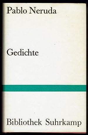 Bibliothek Suhrkamp Bd99 Gedichte By Pablo Neruda
