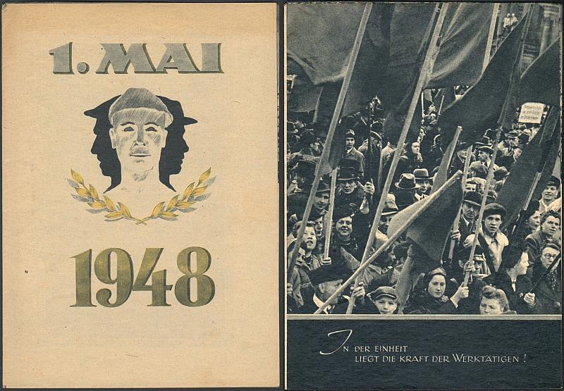 1. Mai 1948.: (Freie Gewerkschaft)