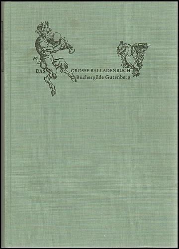 Das große Balladenbuch.: Preußler, Otfried /