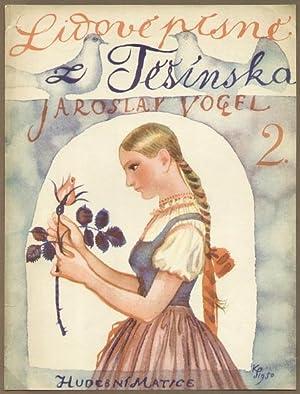 Farbige Illustrationen für Buch, Schallplatte und Telegramm.: Svolinsky, Karel (1896-1986):
