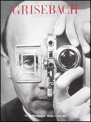 Photographie. Auktion 70 (1999). Mit Ergebnisliste.: Villa Grisebach, Berlin.