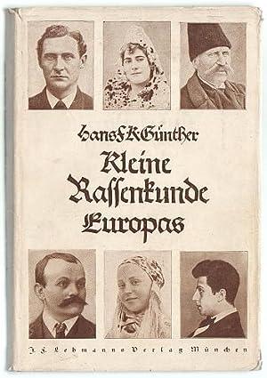 Kleine Rassenkunde Europas.: Günther, Hans F.K.