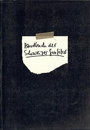 Handbuch der Schweizer Grafiker 1975-79.