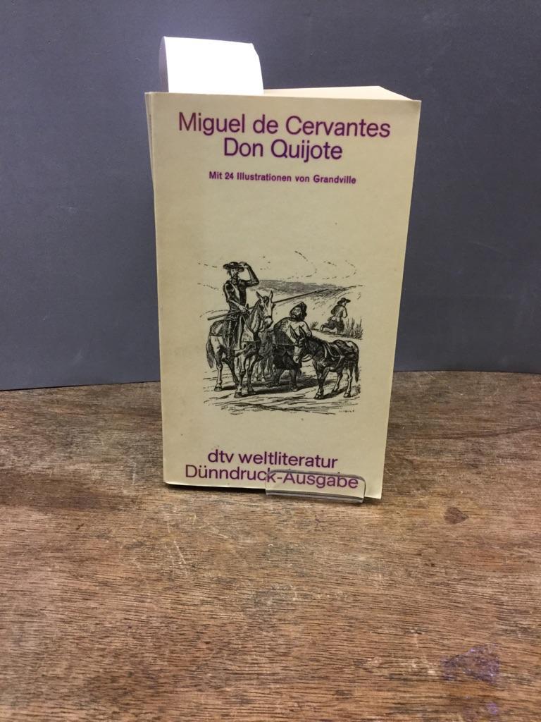 Der sinnreiche Junker Don Quijote von der: Saavedra, Miguel de