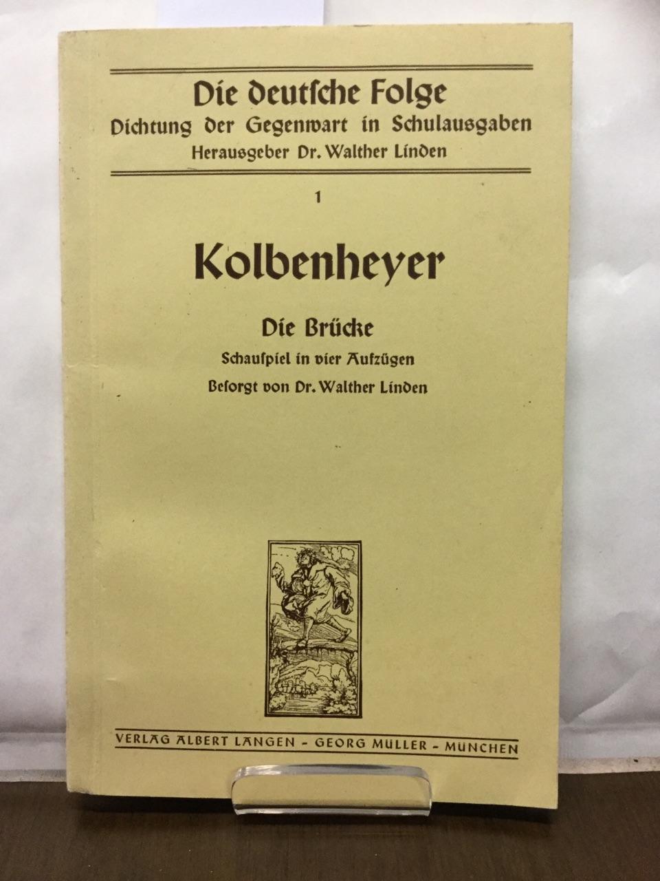 Die deutsche Folge - Dichtung der Gegenwart: Linden, Walter: