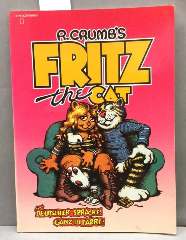 Fritz the Cat. Erwachsenen- Comics: Crumb, Robert: