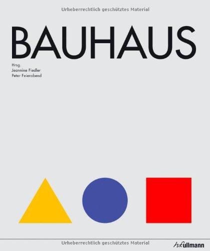 Bauhaus. - Ackermann, Ute (Mitwirkender), Jeannine (Herausgeber) Fiedler und Peter (Herausgeber) Feierabend