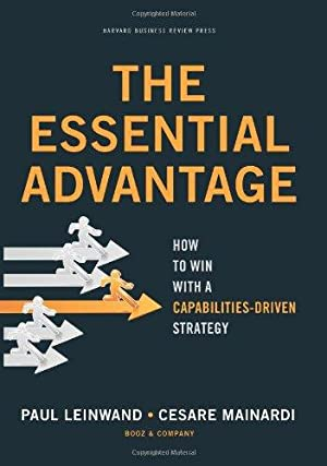 The Essential Advantage: How to Win with a Capabilities-Driven Strategy.