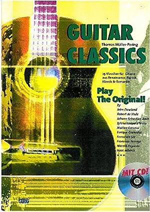 Guitar Classics: 25 Klassiker für Gitarre aus: Müller-Pering, Thomas:
