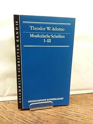 Klangfiguren 1 - Quasi una fantasia 2: Adorno, Theodor W.: