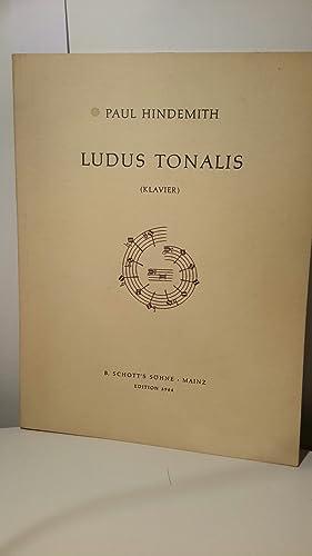 Ludus Tonalis (Klavier) Schott's Edition 3964: Hindemith, Paul: