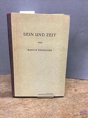 Sein und Zeit 1. Hälfte.: Heidegger, Martin: