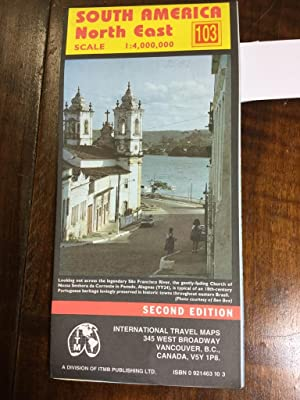 South America North East. International Travel Maps. Scale: 1:4.000.000 Eastern Brasil Paraguay T...