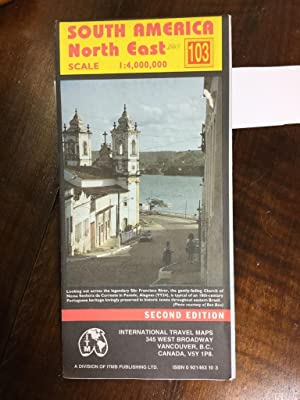 South America North East. International Travel Maps. Scale: 1:4.000.000