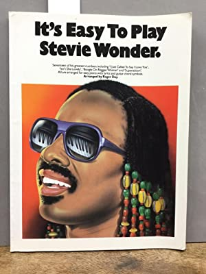 It's Easy To Play Stevie Wonder (Album): Noten für Gesang, Klavier (Gitarre) Arranged by Roger Day