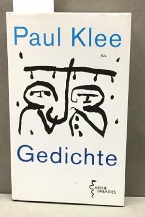 Gedichte Von Paul Klee Arche Literatur Verlag Ag Okt 2010