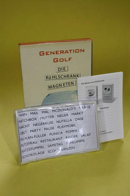 Generation Golf - Die Kühlschrank Magneten: Argon Verlag (Hrsg.)