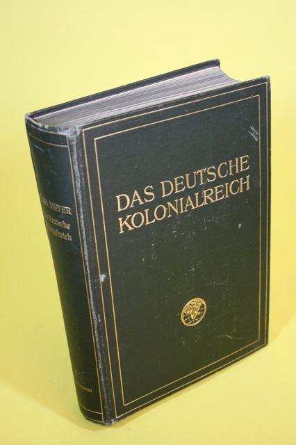 05. 1910 - Dr. Hans Meyer<br><b>Deutsche Kolonialreich</b>