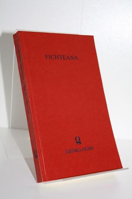 Schriften zu J. G. Fichtes Sozialphilosophie. - Lindau, Hans [Mitverf.] / Weber, Marianne [Mitverf.]