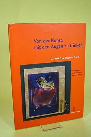 Von der Kunst, mit den Augen zu: Spies, Werner [Hrsg.]