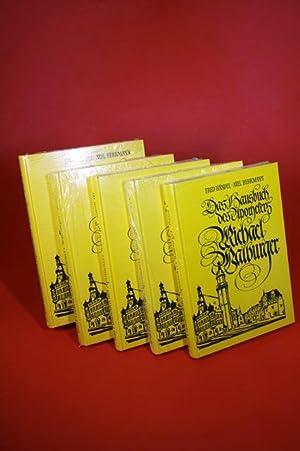 Das Hausbuch des Apothekers Michael Walburger (Band I.- Band IV.) - 5 Bände: Händel, Fred / ...