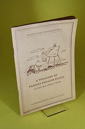 A treasury of famous english essays from: Krog, Dr. Fritz