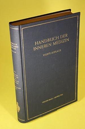 Erkrankungen der Atmungsorgane (Allgemeiner Teil.) - Handbuch der Inneren Medizin (Band 4/Teil...