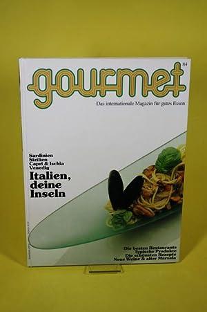 Gourmet. Nr. 84. Das internationale Magazin für: Gourmet / Edition