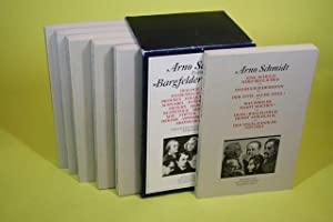 Zweite Bargfelder Kassette - Bargfelder Studienausgabe Werkgruppe II. 6 Bände (Dialoge 1 - 3) ...