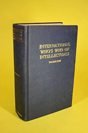 The International who s who of intellectuals: o.A