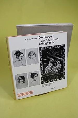 Die Frühzeit der deutschen Lithographie ; Katalog: Winkler, Rolf Arnim