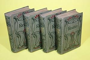 Fritz Reuters sämtliche Werke (Band 1-18) - Ausgabe in 18 Bänden (4 Bücher): Reuter,...