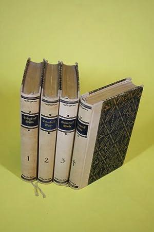 Eichendorffs Werke in vier Bänden (Erster Band - Vierter Band) - Erster Band: Gedichte, Julian...
