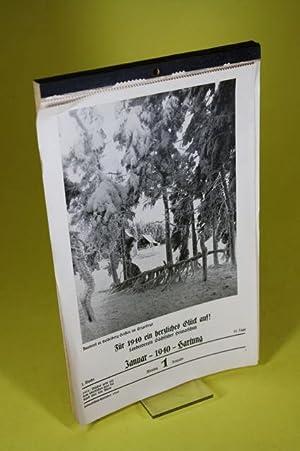 Sächsischer Heimatschutz-Kalender 1940: Landesverein S�chsischer Heimatschutz (Hrsg.)