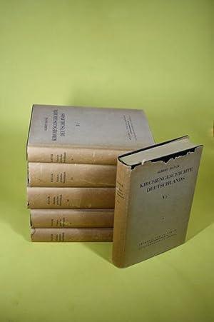 Kirchengeschichte Deutschlands - Erster Teil - Fünfter Teil (6 Bände): Hauck, Albert