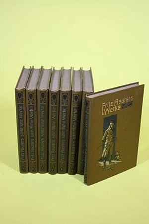Sämtliche Werke in 8 Bänden (Band 1-8) - 8 Bände: Reuter, Fritz