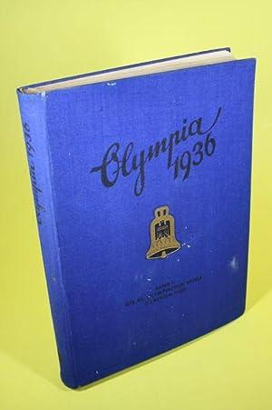 Die Olympischen Spiele 1936 (Band 2) - in Berlin und Garmisch-Partenkirchen (Sammelalbum komplett):...
