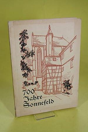 700 Jahre Sonnefeld - 1252-1952: Stadt Sonnefeld (Hrsg.)