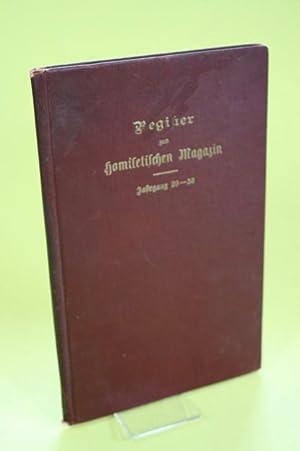 Register zum Magazin für ev.-luth. Homiletik und Pastoraltheologie - Deutsch-englische ...