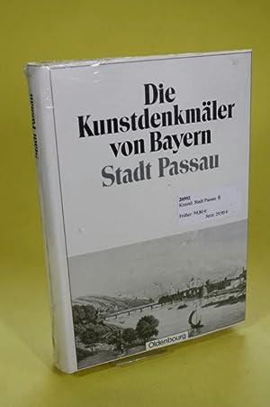 Die Kunstdenkmäler von Bayern Stadt Passau - Die Kunstdenkmäler des Königreichs ...