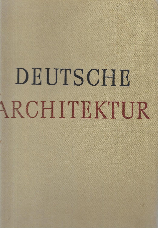Deutsche architektur 12 b cher zvab - Deutsche architektur ...