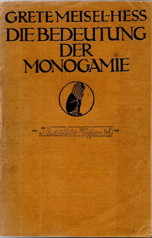 monogamie bedeutung