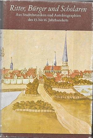 Ritter, Bürger und Scholaren