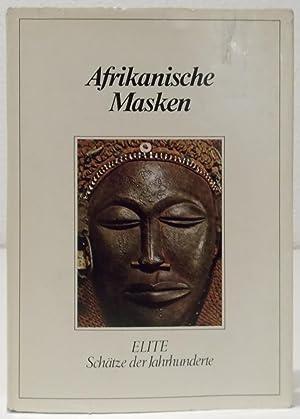 """Afrikanische Masken. Hrsg. u. bearb. nach """"Le: Koschützke, Albrecht."""