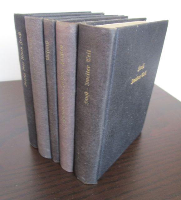 1. Goethes Faust in ursprünglicher Gestalt (Urfaust).: Goethe, Johann Wolfgang