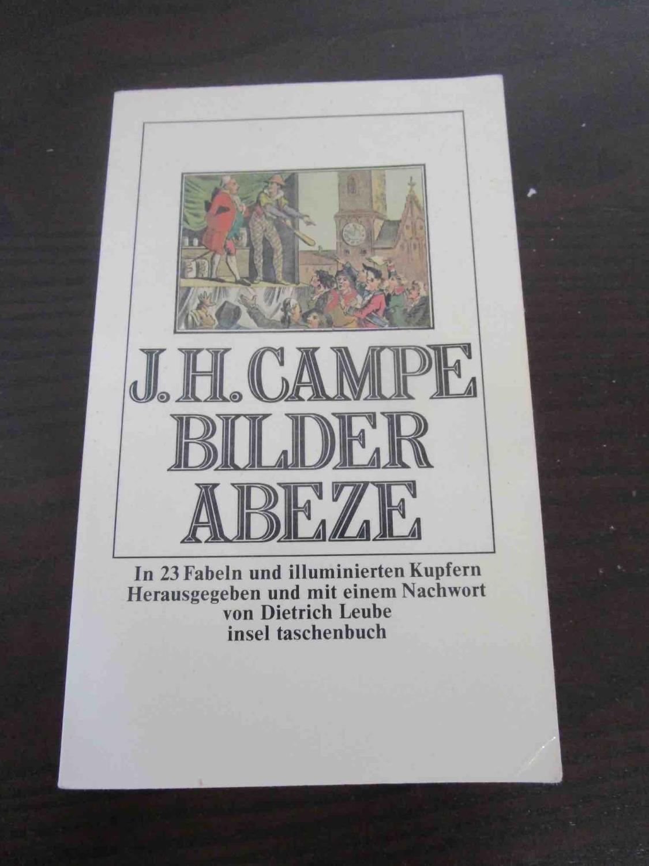 Bilder Abeze. Mit 23 Fabeln und illuminierten: Campe, Joachim Heinrich.