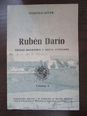 Rubén Darío. Ensayo biografico y breve antologia.: Jover, Marcelo.