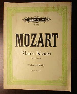 Kleines Konzert. Aus der Serenade K. V.: Mozart, Wolfgang Amadeus.